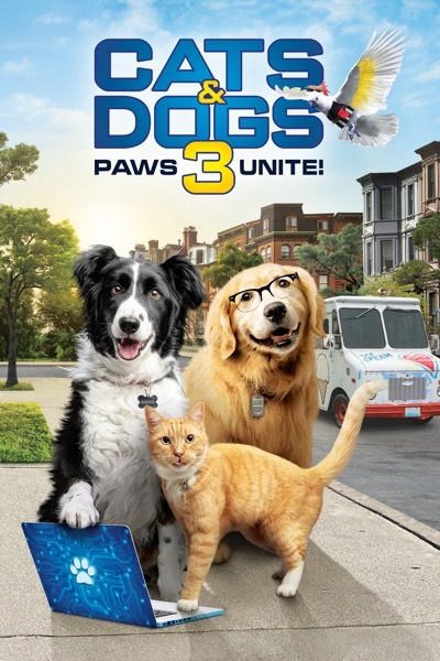 Cats & Dogs 3: Paws Unite Cover