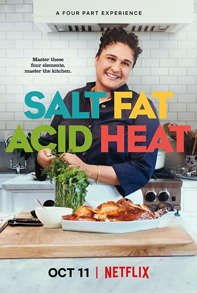 Соль, Жир, Кислота, Тепло / Salt, Fat, Acid, Heat. 2018г.