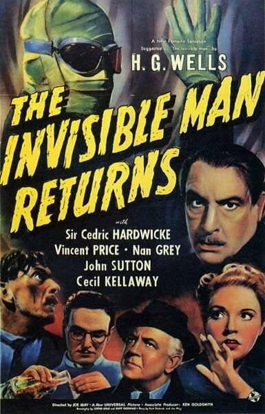 Человек-невидимка возвращается (1940) смотреть онлайн в хорошем качестве