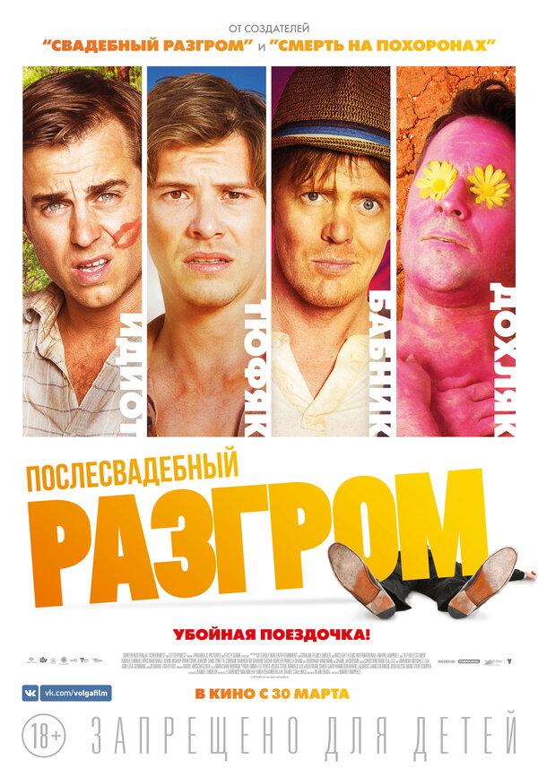 Отзывы к фильму – Послесвадебный разгром (2016)