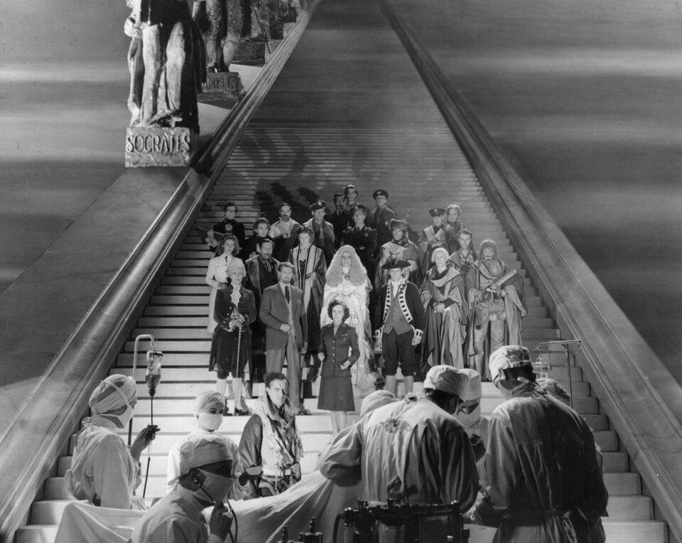 Фото: Лестница в небо / Кадр из фильма «Лестница в небо» (1946) #831296