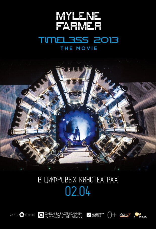 Milen Farmer.Timeless 2013 - Le film