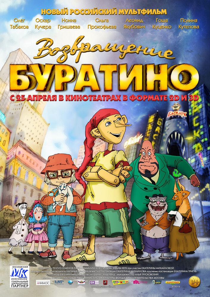 Возвращение Буратино (2013) - смотреть онлайн