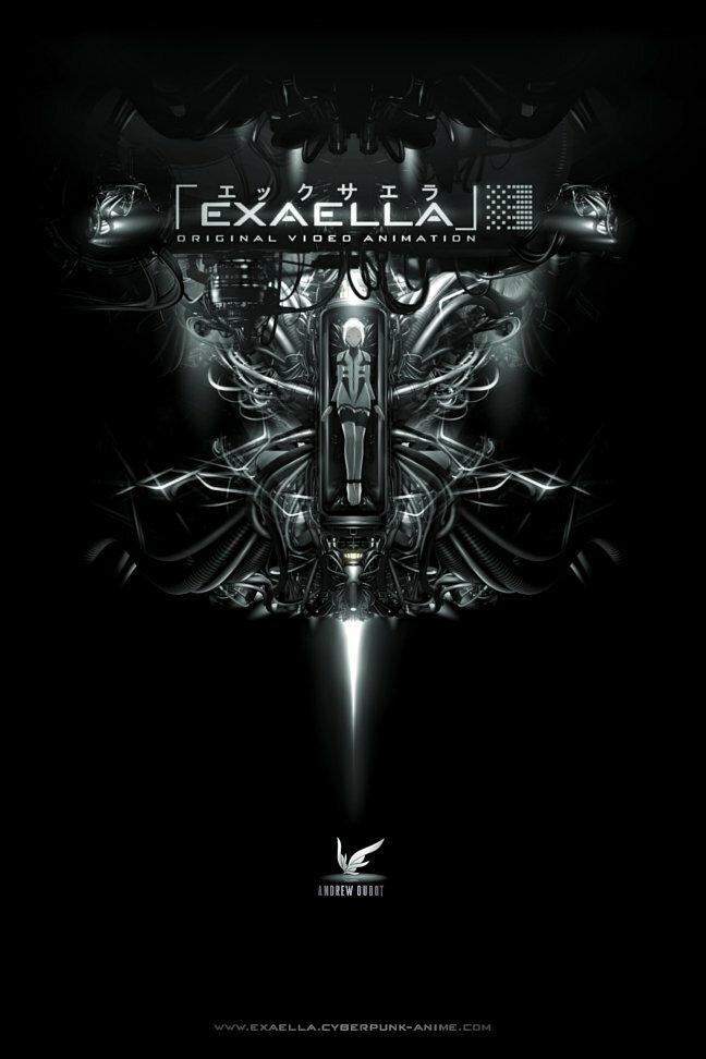 Эксэлла / Exaella [OVA][4 из 4][RUS+JAP+ENG+SUB][RAW][2011, фантастика, драма, киберпанк, DVDRip][720p]