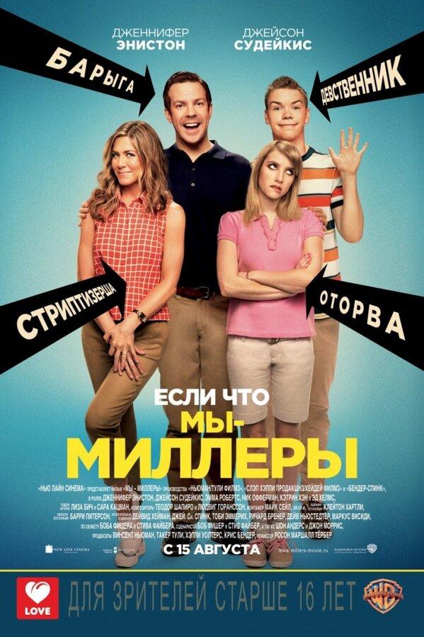 Отзывы к фильму – Мы – Миллеры (2013)
