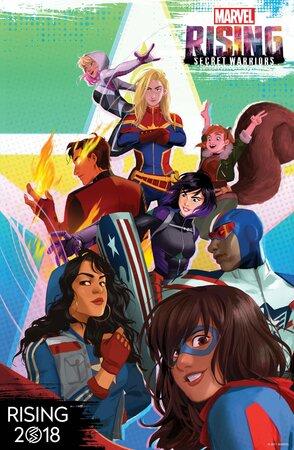 Восход Marvel: Тайные воины  (2018)