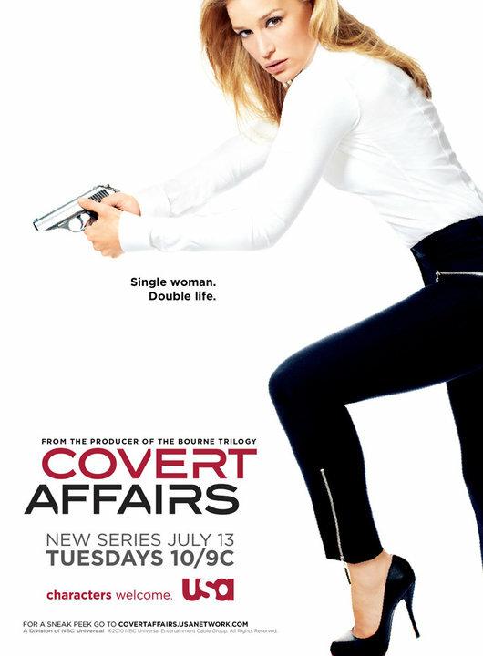 Тайные связи / Covert Affairs (2010)