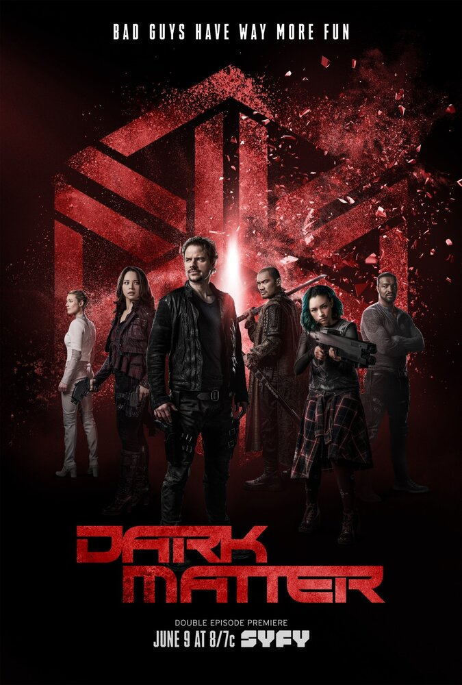 Тёмная материя / Dark Matter (2 сезон) 11-12 серия