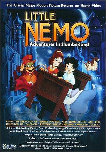 Маленький Немо: Приключения в стране снов / Little Nemo: Adventures in Slumberland (1989)