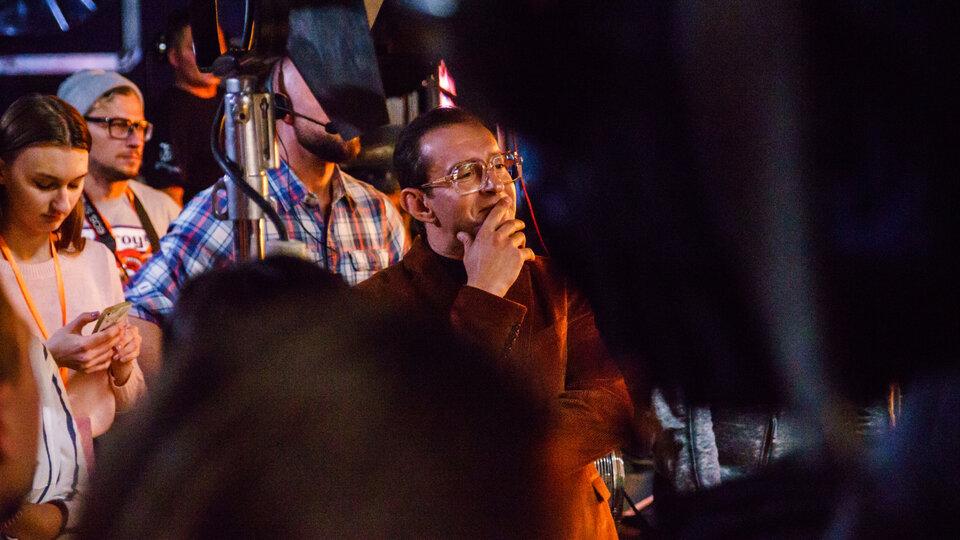 Константин Хабенский на съемочной площадке «Елок последних» / Фото: Олег Яковлев для КиноПоиска