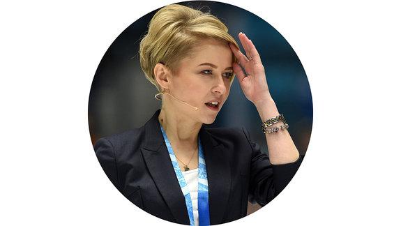 Наталья Кларк, хоккейный комментатор, ведущая «Матч ТВ» и КХЛ ТВ