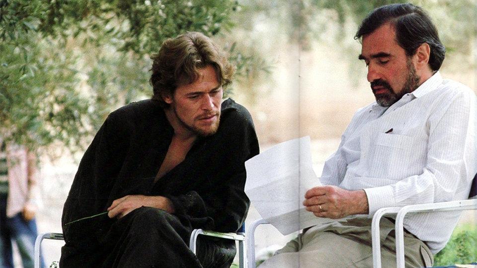 Мартин Скорсезе на съемках фильма «Последнее искушение Христа»