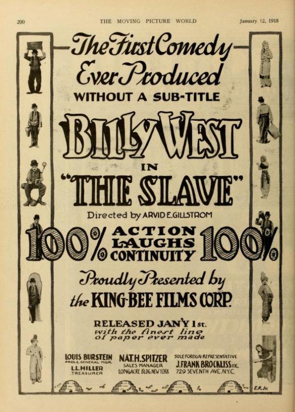 «Раб» с Билли Уэстом