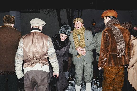 Съемки фильма «Елки 1914»