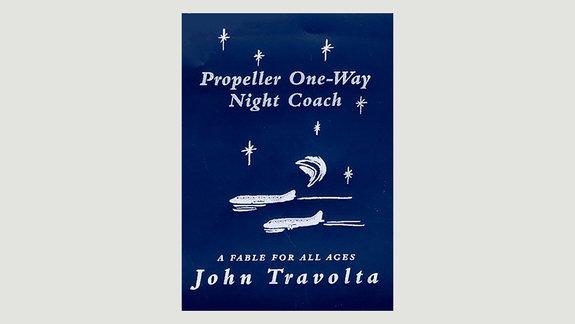 Обложка книги Джона Траволты