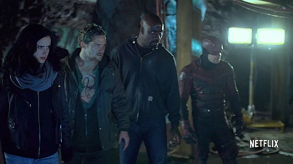 Трейлеры: «Защитники» Marvel, «Игра престолов», «Одаренные»