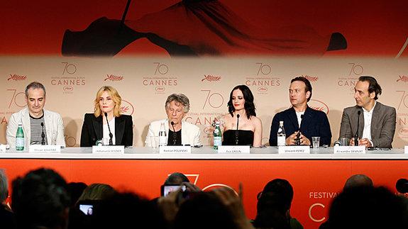Создатели фильма на пресс-конференции / Фото: Getty Images