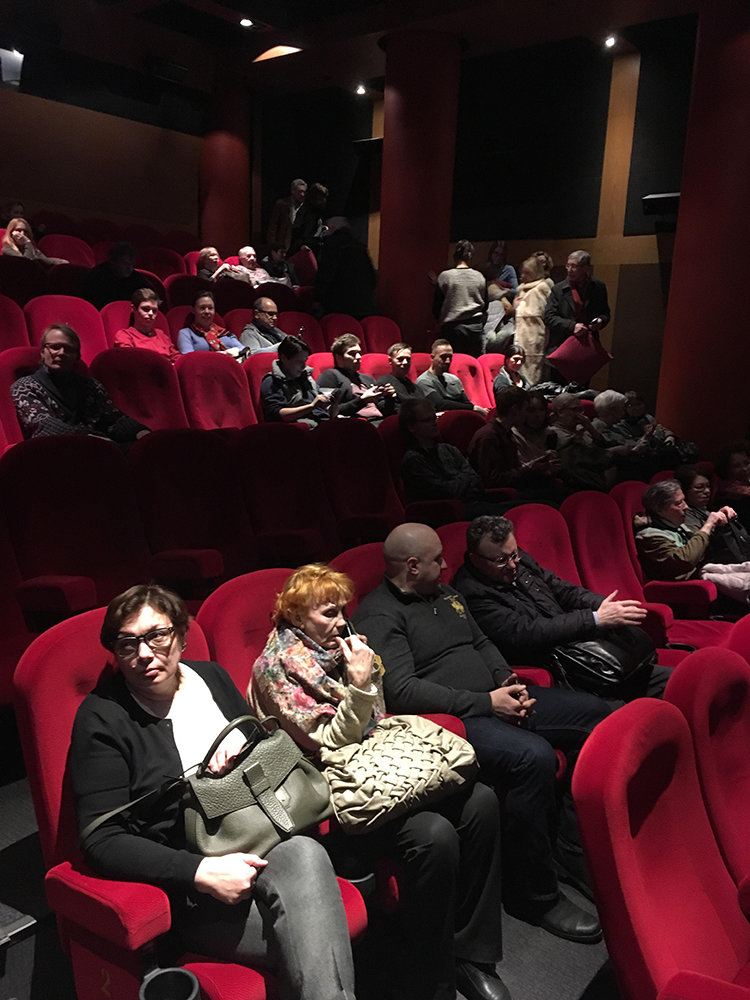 Сеанс фильма «Смерти Сталина» в кинотеатре «Пионер» / Фото: Милослав Чемоданов