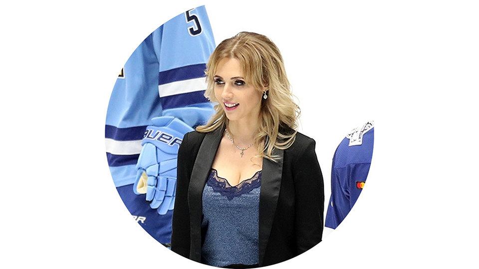 Дарья Миронова, обозреватель и ведущая КХЛ ТВ