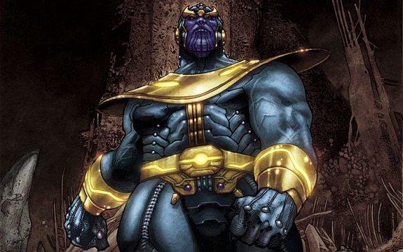 Танос / Иллюстрация: Издательство Marvel