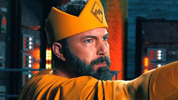 Бен Аффлек сыграл царя супергероев