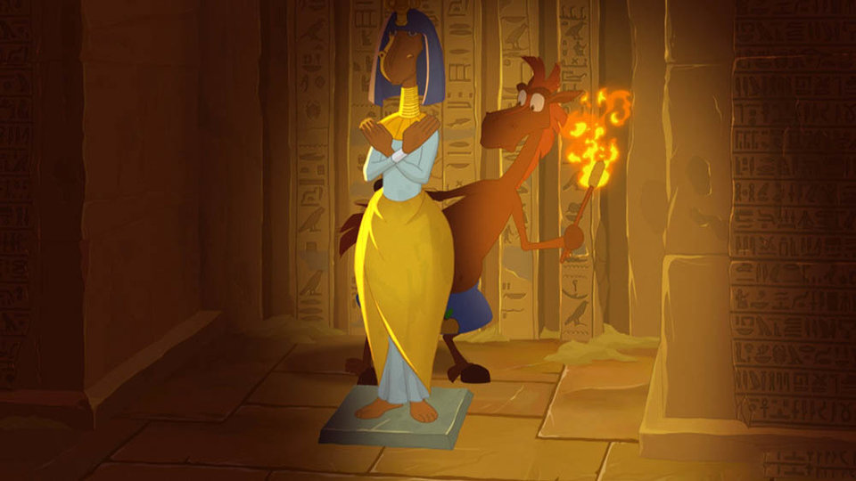 «Три богатыря и принцесса Египта»