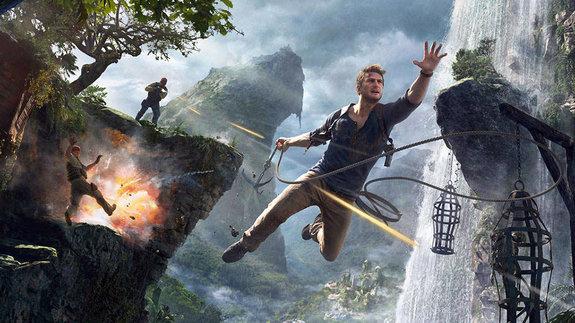Кадр из игры Uncharted