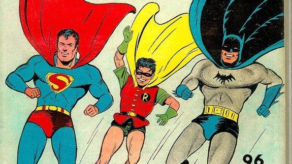 Фрагмент обложки комикса DC World's Best (март 1941 года)