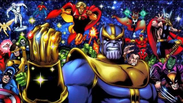 Танос в комиксах