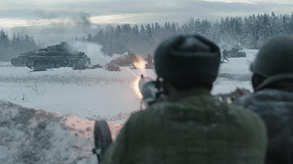 Кадр из фильма «28панфиловцев»