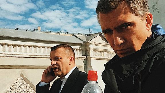 Леонид Парфенов и Сергей Нурмамед