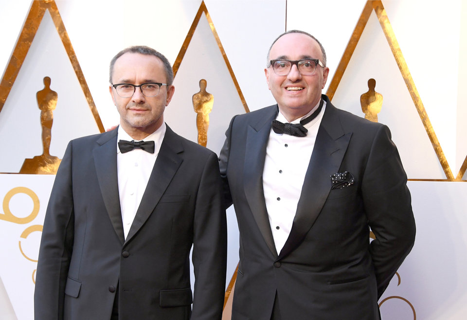 Андрей Звягинцев и Александр Роднянский / Фото: Getty Images