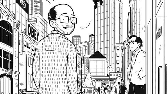 «Как устроено кино»: Отрывки из комикса Эдварда Росса