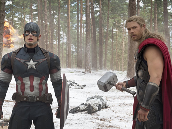Крис Эванс и Крис Хемсворт: «Мы такие же фанаты Marvel, как вы»