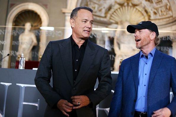 Том Хэнкс и Рон Ховард во Флоренции / Фото: Getty Images