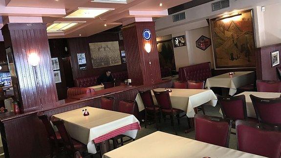 Интерьер ресторана «Шрёдер»/ Фото: КиноПоиск