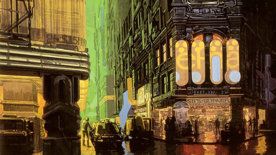 Концепт-арт фильма «Бегущий по лезвию»