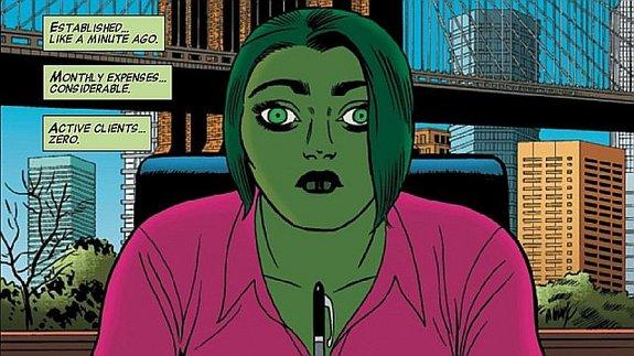 Женщина-Халк наработе вкомиксе Чарльза Соула «Закон ибеспорядок» / Иллюстрация: Marvel