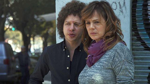 Мишель Франко и Эмма Суарес на съемках