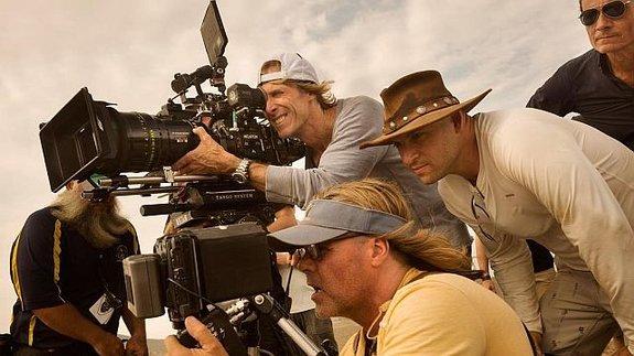 Майкл Бэй на съемках / Фото: Пресс-служба Paramount