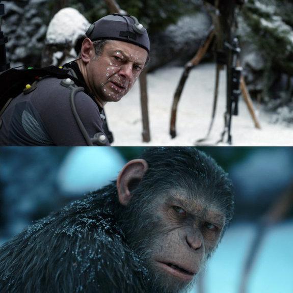На съемках фильма «Планета обезьян: Война»