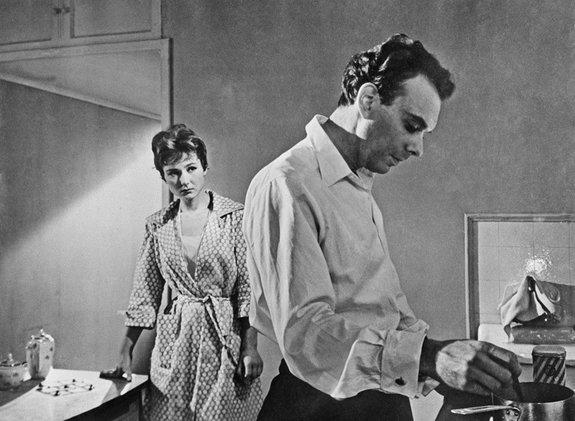 Кадр из «Девяти дней одного года» (1961)