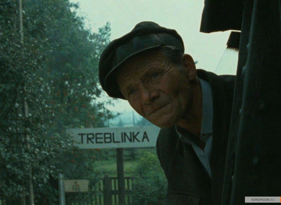 Кадр из фильма Клода Ланзманна «Шоа»