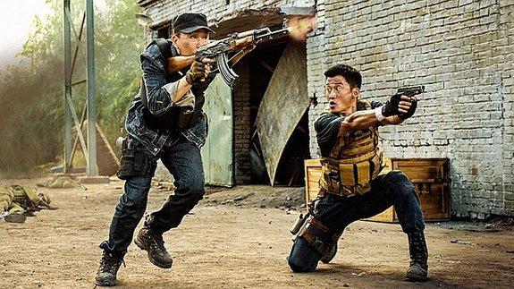 Мировой бокс-офис: Китайские спецназовцы не сдаются