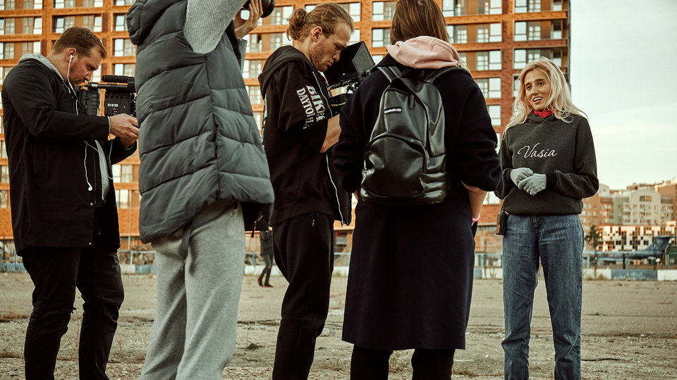 На съемках фильма «Алиса» / Фото: Александр Шинкарев