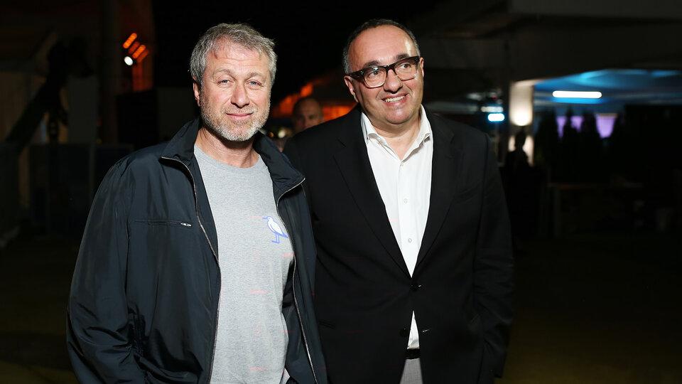 Роман Абрамович и Александр Роднянский / Фото: Getty Images