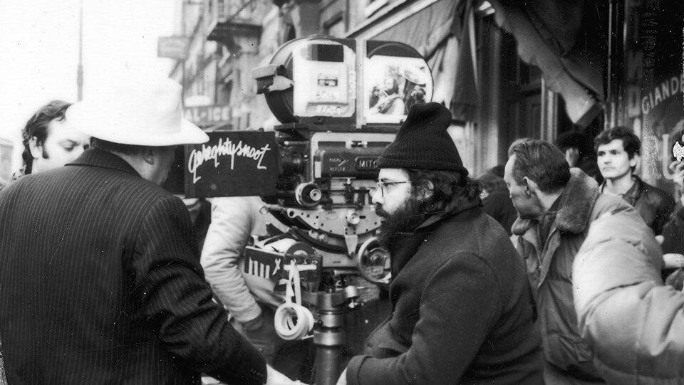 Фрэнсис Форд Коппола на съемках фильма «Крестный отец 2»