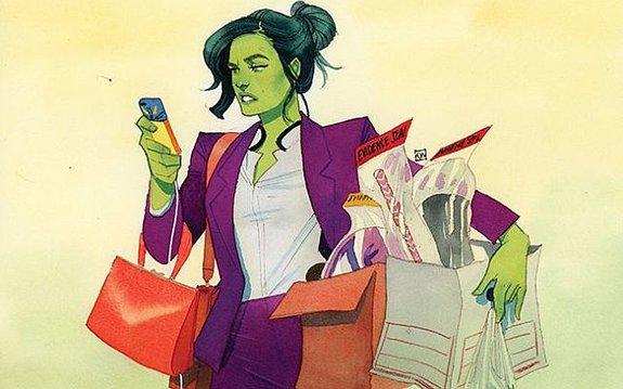 Женщина-Халк / Иллюстрация: Издательство Marvel