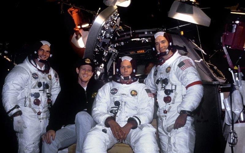 Насъемках фильма «Аполлон13»