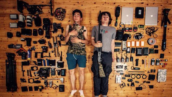 За день до отправления в съемочную экспедицию «Генезис 2.0» / Фото из личного архива Максима Арбугаева